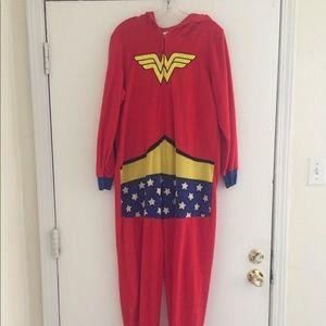 Wonder Woman Adult Onesie Pajamas